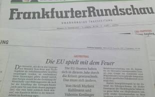 Frankfurter Rundschau Jahresrückblick 2015 Kopie